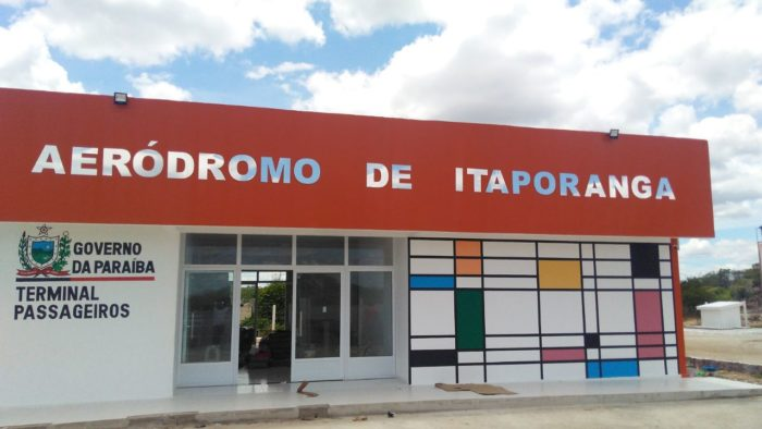 Governador da PB entrega reforma de Aeródromo de Itaporanga nesta sexta-feira
