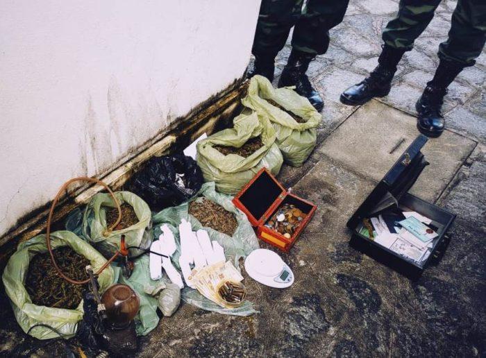 Polícia prende homem com mais de 3 quilos de maconha no Castelo Branco
