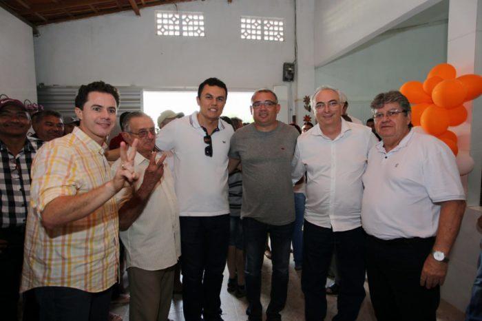 Nonato ressalta aceitação ao nome de João Azevêdo durante agenda no Vale do Piancó