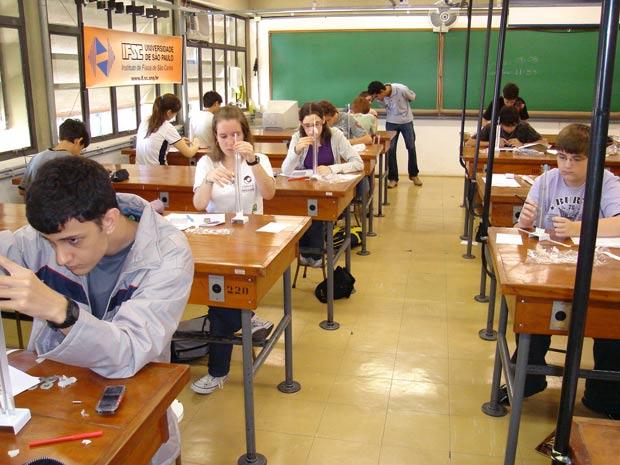 PB é 4º Estado em número de inscritos na Olimpíada Brasileira de Física das Escolas Públicas