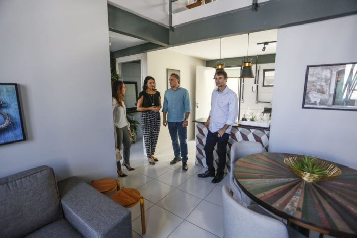 Luciano e Romero visitam obras em JP e trocam experiências administrativas
