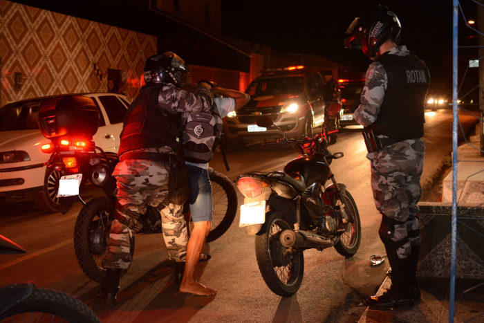 Polícia apreende cinco armas de fogo em JP e CG durante Operação Cidade Segura