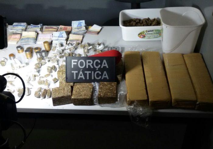 Balanço policial: PM da Paraíba prende 101 suspeitos e apreende mais de 40 kg de drogas