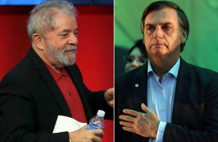 Lula tem 12 pontos percentuais de vantagem sobre Bolsonaro, aponta pesquisa da Veja
