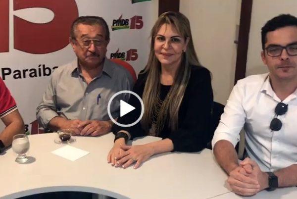 Prefeita de Fagundes retira apoio a Lucélio e adere à pré-candidatura de Maranhão