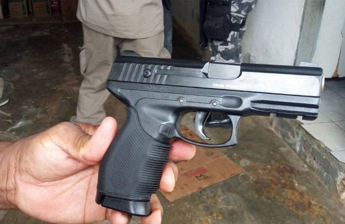 Em Santa Rita, polícia frustra assalto a mercadinho e prende suspeitos