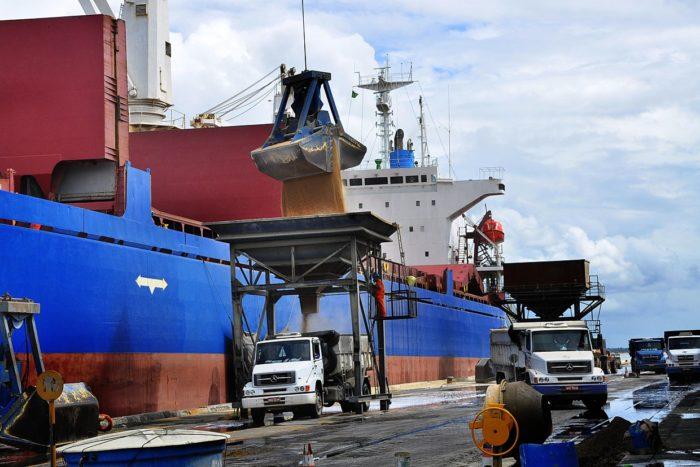 Movimentação de cargas no Porto de Cabedelo cresce praticamente 100% no mês de julho