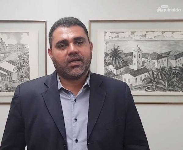 """Prefeito de Cuité de Mamanguape destaca parceria com Aguinaldo Ribeiro: """"apoio está consolidado"""""""