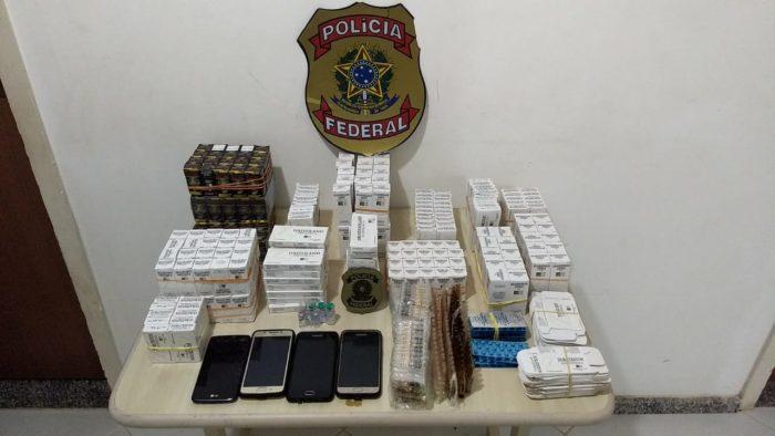 PF prende, em JP, dupla com grande quantidade de anabolizantes paraguaios