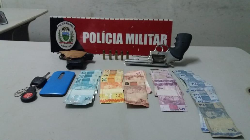 Em uma ação rápida, Polícia Militar detém trio suspeito de assalto em Itabaiana