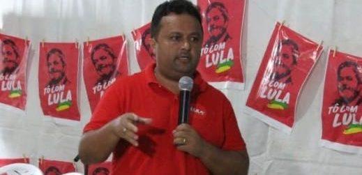 Presidente do PT-PB rechaça manifesto pró Lula/Lucélio: