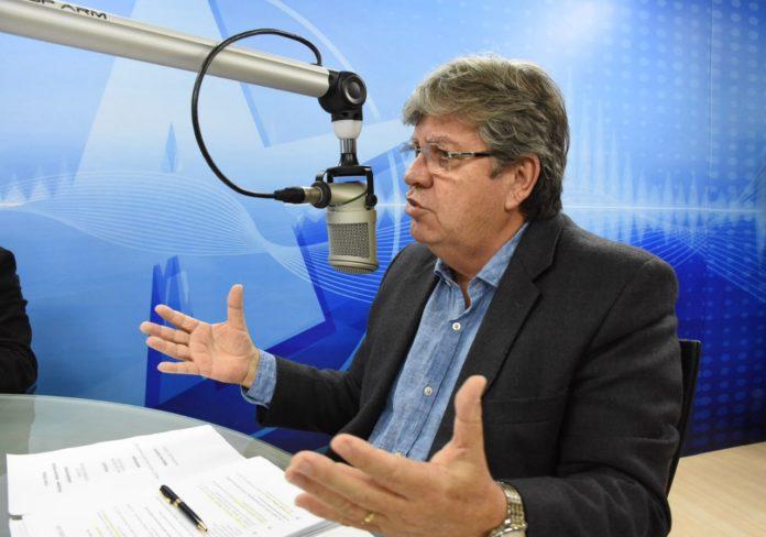 Segurança: João propõe implantar centros de monitoramento e controle em JP, CG e Patos