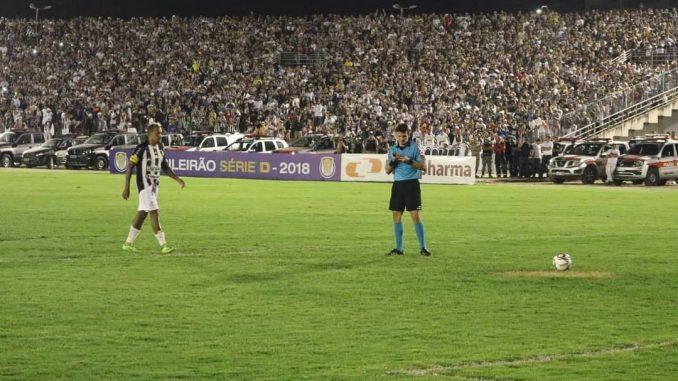 CBF marca data do último jogo da final da Série D entre Treze e Ferroviário