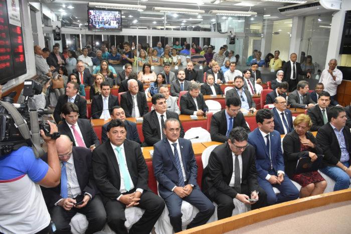 Câmara de João Pessoa abre oficialmente trabalhos legislativos em sessão solene