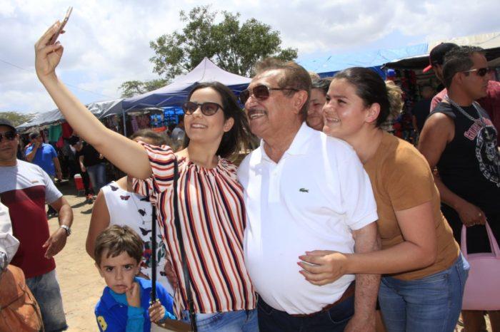 Zé Maranhão participa de Festa de Nossa Senhora dos Remédios em Araruna