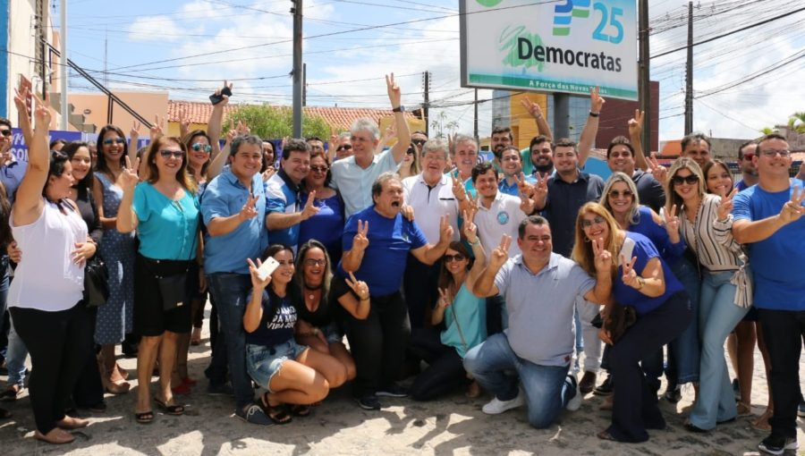 Democratas realização convenção, chancela apoio a João e indica suplente de Veneziano