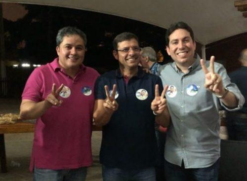 Efraim Filho recebe apoio do prefeito e de vereadores de Cabedelo