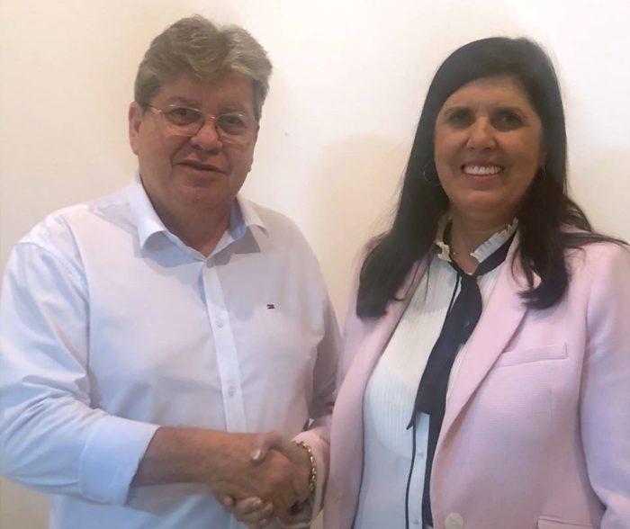Lígia é escolhida como vice de João e escalada para coordenar campanha em Campina Grande