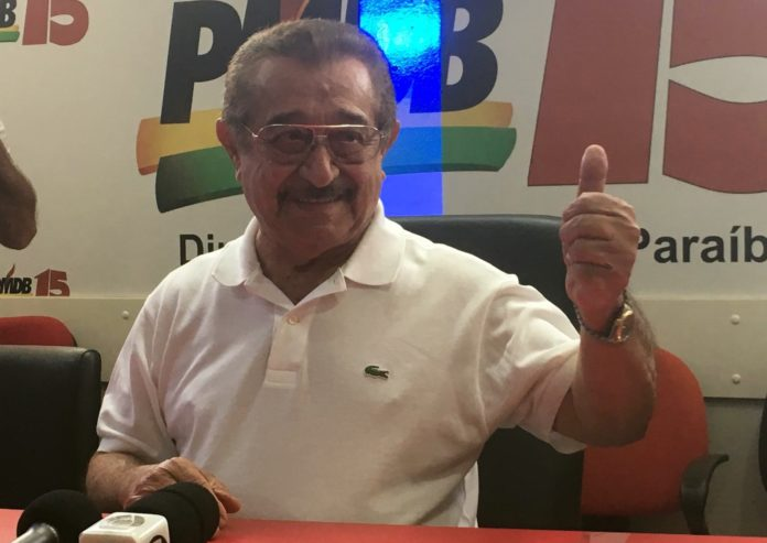 Em coletiva de imprensa, Maranhão lança aplicativo e nega desistência de candidatura