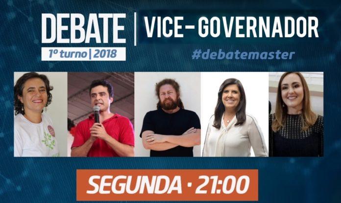 Paraíba Já retransmite 1° debate com os candidatos a vice-governador realizado pela TV Master