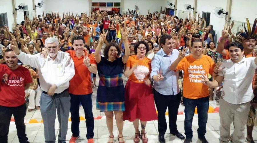 """Vídeo mostra unidade entre Couto e Vené, e socialista ironiza: """"Daniella faz isso com Cássio?"""""""
