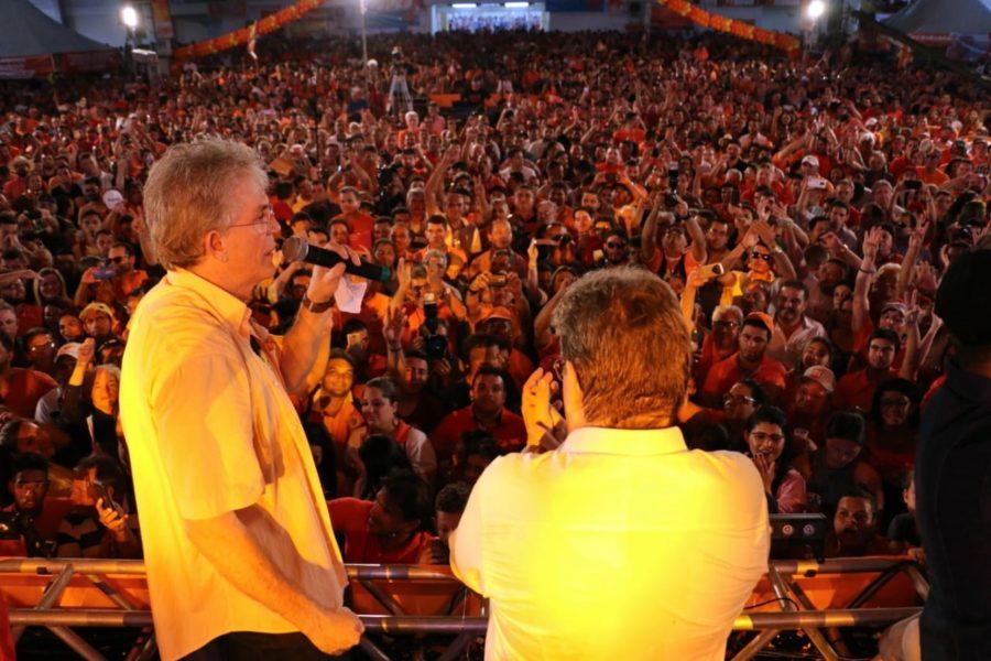 """Ricardo projeta João ganhando de """"goleada"""" e diz que PB não pode ficar nas mãos de três famílias"""