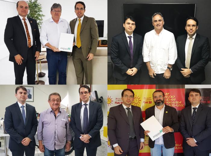 Pré-candidatos ao governo garantem realização de concurso público para PGE-PB