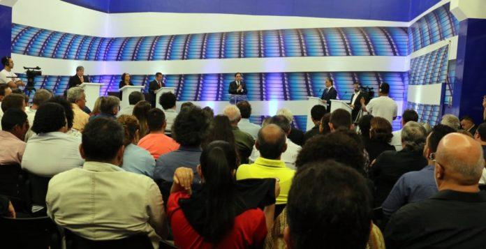 AO VIVO: Assista agora o debate da TV Master com os cinco candidatos ao Governo da Paraíba
