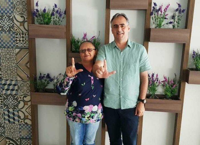 Vereadora do PT em São Miguel do Itaipu adere à pré-candidatura de Lucélio