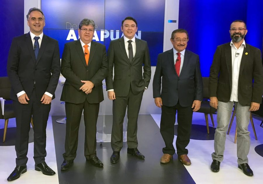 João é o menos rejeitado para o Governo da PB entre os três primeiros colocados, revela pesquisa