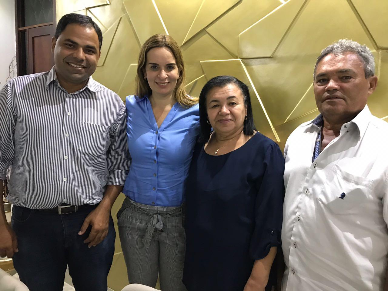 Prefeita de Matinhas anuncia apoio ao nome de Daniella para o Senado