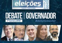 TV Master realiza 3ª debate com candidatos ao governo nesta segunda; Paraíba Já retransmite