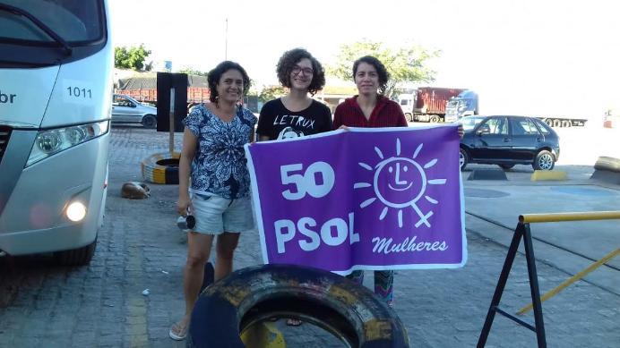 Mulheres do PSOL Paraíba participa de 'Festival pela vida das mulheres'
