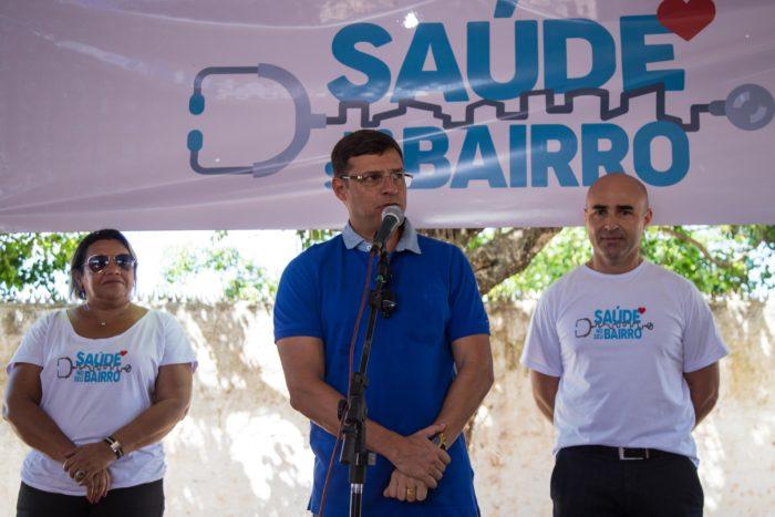 Moradores do Recanto do Poço recebem ações de saúde e cidadania