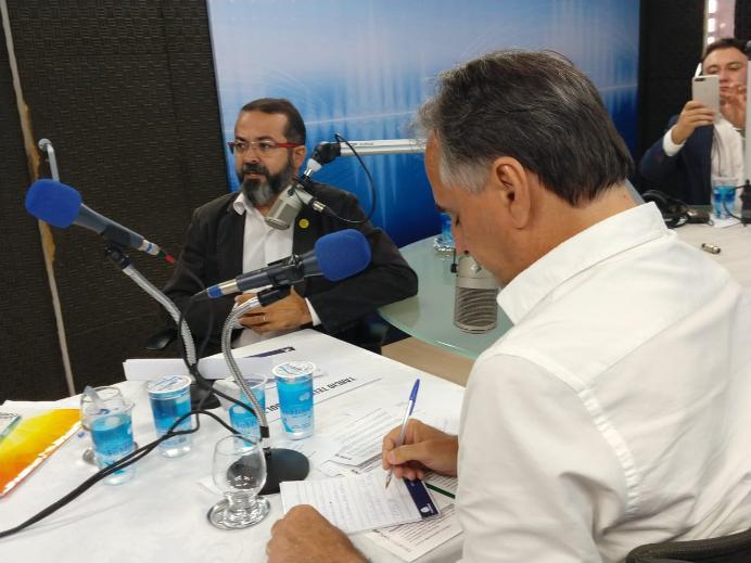 Tárcio cita 'Caso Lagoa' e composição de chapa de Lucélio para questionar transparência