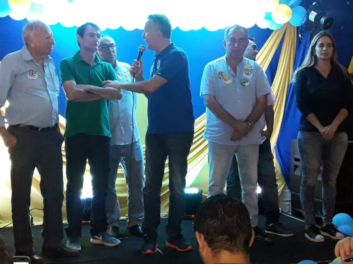 Vereador de CG promove evento em apoio às candidaturas de Aguinaldo Ribeiro e Cláudio Régis