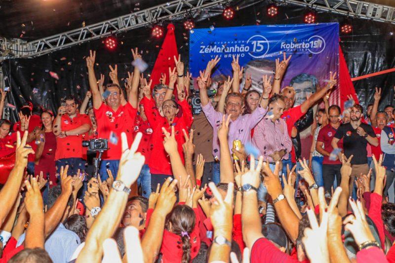 Zé Maranhão comemora aniversário com carreata e comício em Araruna