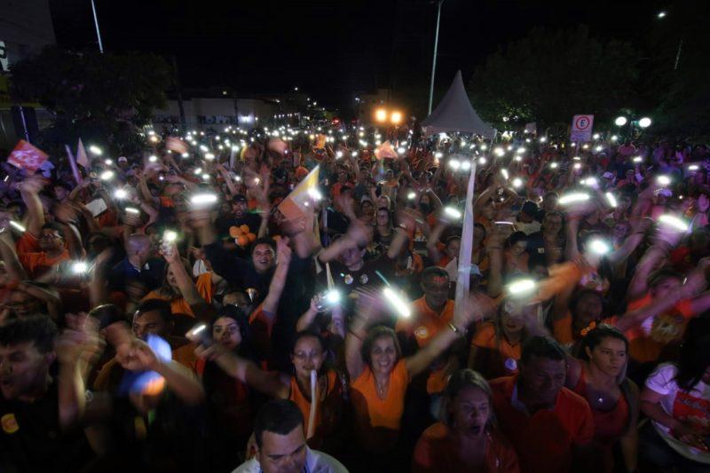 """""""No dia 7 de outubro vamos cravar o 40"""", afirma João no encerramento de caravana em Monteiro"""