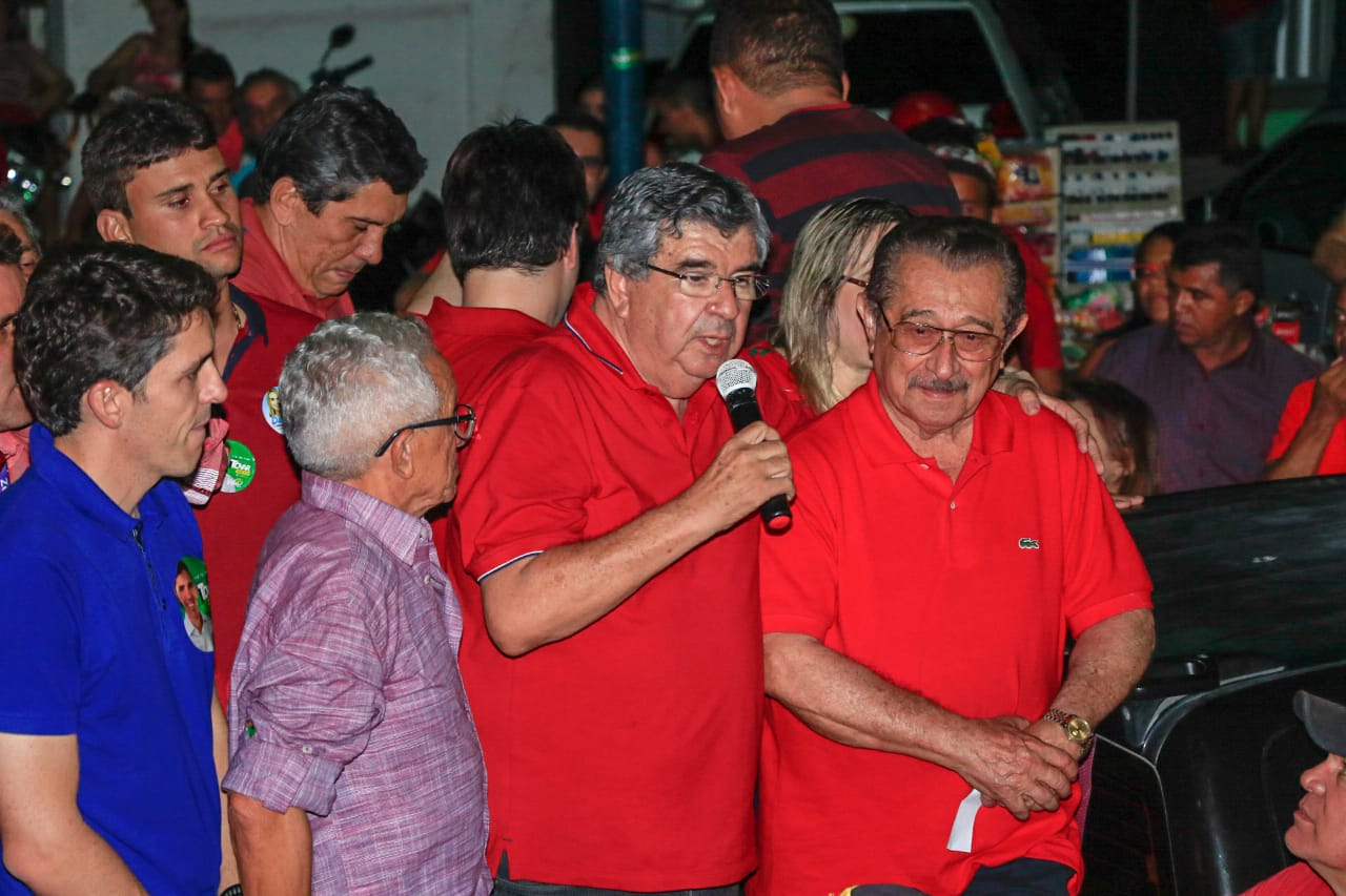Com Maranhão ao seu lado, Roberto Paulino percorre Vale do Piancó e defende desenvolvimento regional