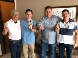 Veneziano recebe adesões dos prefeitos de Boa Vista e Salgado de São Félix