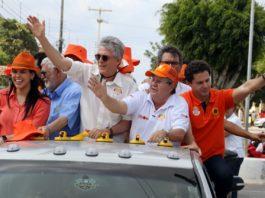 Ricardo comanda Caravana do Trabalho pelas ruas do Bancários, nesta quarta-feira