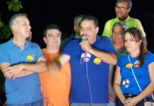 Prefeitos de três municípios defendem reeleição de Aguinaldo Ribeiro