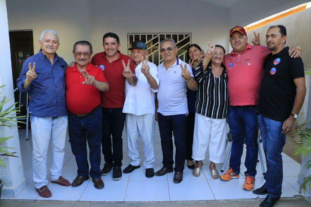Zé Maranhão segue recebendo adesões pela Paraíba