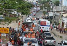 Em grande carreata na cidade de Campina, João destaca investimentos em mais de R$ 1 bi no município