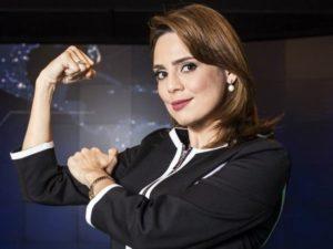 Representante da 'direita' no jornalismo, paraibana adere a protesto contra Bolsonaro