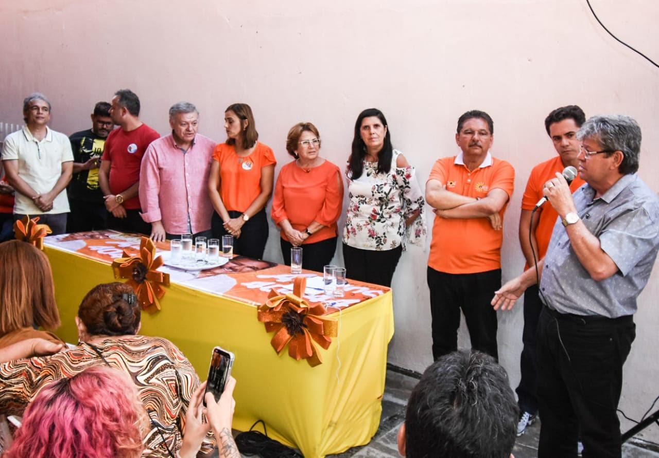 João se reúne com agentes de saúde em Campina Grande e garante curso de formação técnica