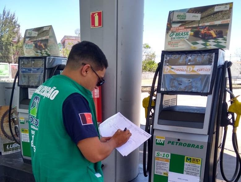 Procon de CG autua 33 postos de combustíveis durante operação