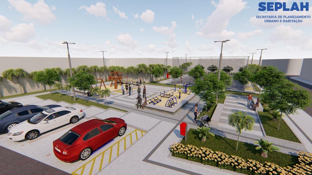 Prefeitura vai construir praças nos bairros do Poço e Jardim Manguinhos, em Cabedelo
