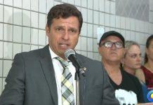 """Prefeito Vitor Hugo classifica eleição de Geusa Ribeiro na Câmara de Cabedelo como """"golpe"""""""
