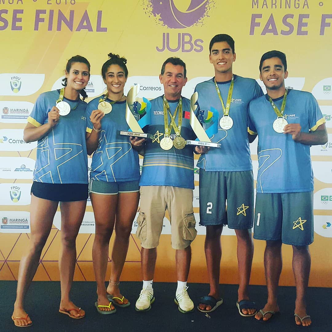 Paraíba conquista 16 medalhas na fase final dos Jogos Universitários Brasileiros, em Maringá